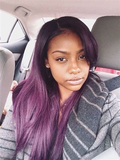 black hairstyles weave on for summerblack and purple 17 best images about hair on pinterest pastel my hair