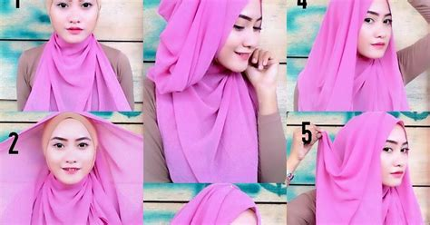 tutorial jilbab wisuda sederhana tutorial jilbab pengantin sederhana 25 tutorial hijab