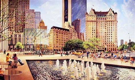imagenes urbanas abstractas imagenes de cuadros al oleo de paisajes urbanos sobre lienzo
