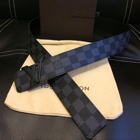 Jual Belt Louis Vuitton Lv Damier Graphite Black Mirror Quality 9 67 louis vuitton accessories lv damier graphite