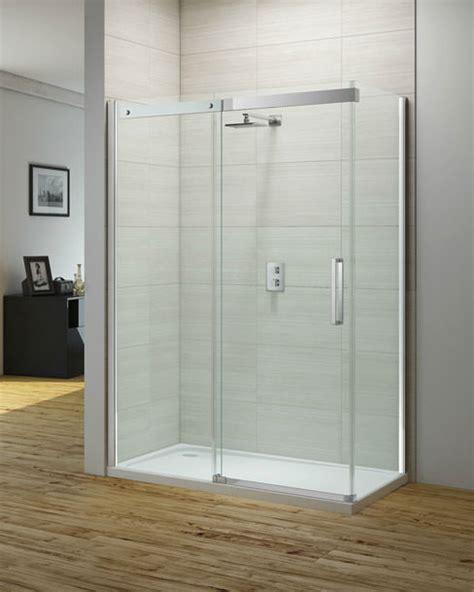 Merlyn Ionic Gravity 1000mm Frameless Sliding Shower Door Sliding Shower Doors 1000mm