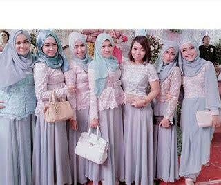 Baju Seragam Nikahan model kebaya seragam trend 2016 untuk pernikahan acara keluarga pesta resmi trend baju kebaya 2017