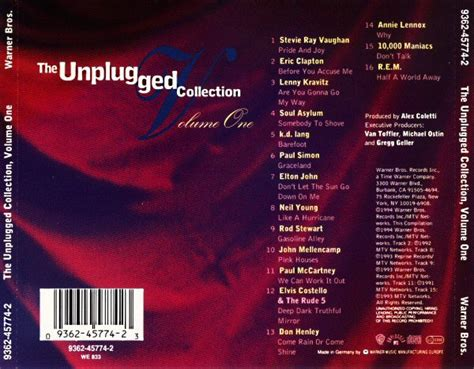 mtv  unplugged collection volume  cd tpl records