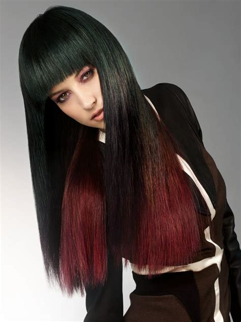 Haare Tönen by Neu Farbverlauf Haare Rot Grafiken