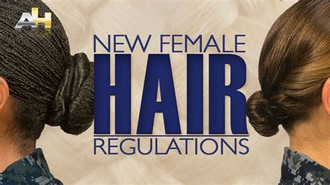 female haircut army regulations navy revises hair rules for women at boot c time