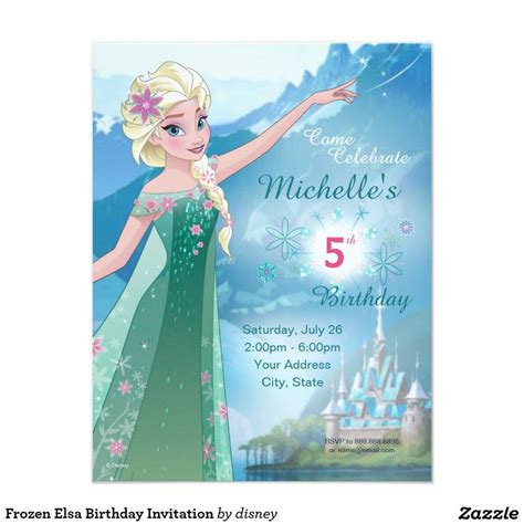frozen themed birthday invitations 37 best images about frozen birthday party supplies elsa