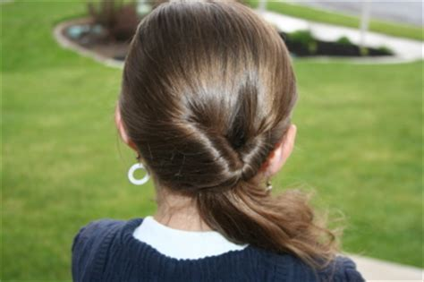 triple flipped ponytail hairstyle babes in hairland easy hairstyles teen flipped side ponytail cute girls