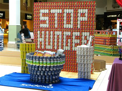 canstruction ideas canstruction 4 13