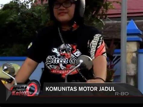 Tv Jadul komunitas motor jadul
