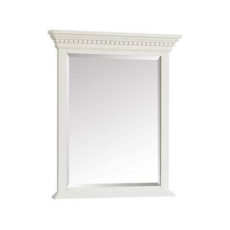 28 inch mirror hastings 28 inch mirror in white finish azzuri wall