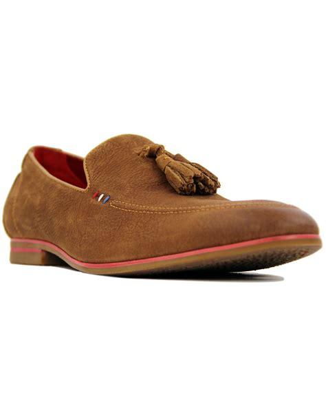 sergio loafers sergio duletti rene retro 1960s mod leather tassel loafers