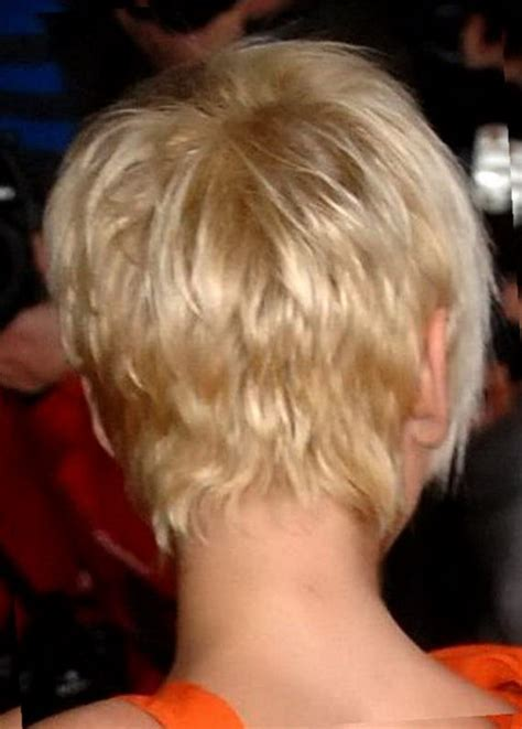 hair cut styles back of the head photos pixie haircut back of head