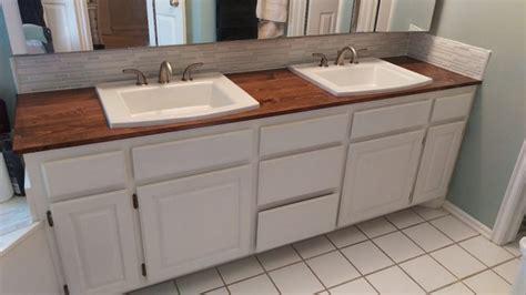 Wood bathroom countertop   4k Wiki Wallpapers 2018