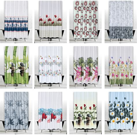 do shower curtains come in different lengths modern bathroom shower curtains choice of extra long and
