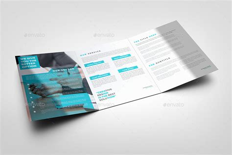 vakikob tri fold a4 corporate brochure template by evny