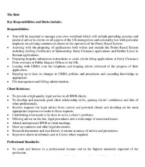 Description Of A Lawyer by 10 Lawyer Description Templates Pdf Doc Free Premium Templates