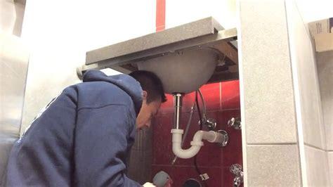 lavamanos con sarro youtube instalaci 243 n de lavamanos con sensor youtube