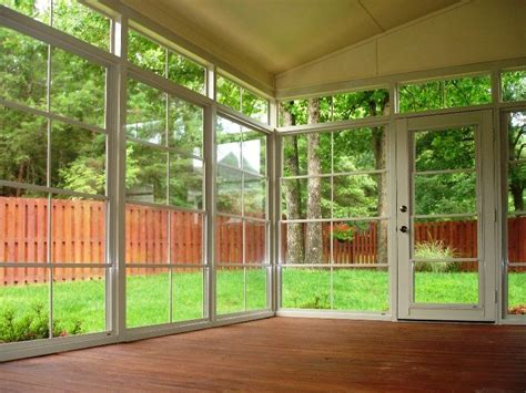 white vertical  track windows  cabana door installed