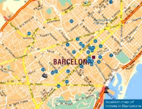 Barcelona Spain Map by Similiar City Map Of Barcelona Spain Keywords