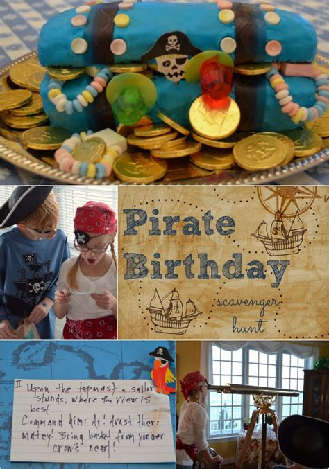 idea hunt pirate birthday party scavenger hunt idea home stories