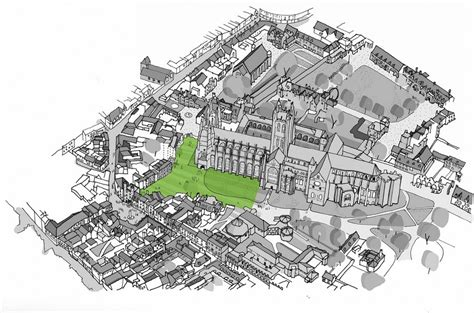 canterbury cathedral floor plan canterbury cathedral landscape design competition e