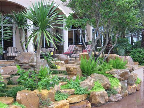 landscaping designs for backyard beautiful rock garden ideas corner