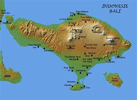 map of bali bali maps bali bali tips for aussies