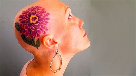 extreme tattoo blowout extreme scalp tattoos to blow your mind youtube