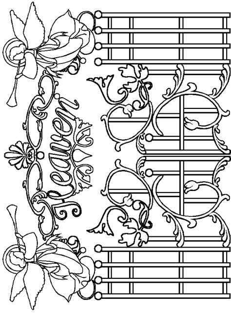 garden gate coloring page kids coloring page gallery
