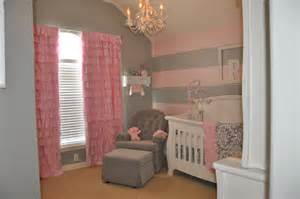 Pink Baby Chandelier Peyton S Pink And Gray Nursery Project Nursery