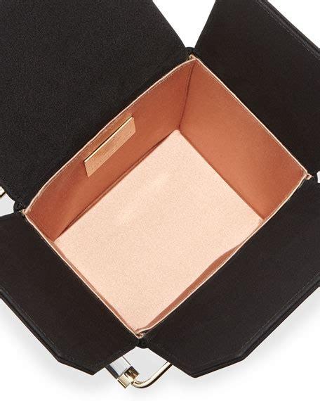 Take Away Box Bag From Os by Olympia Take Me Away Box Clutch Bag Black