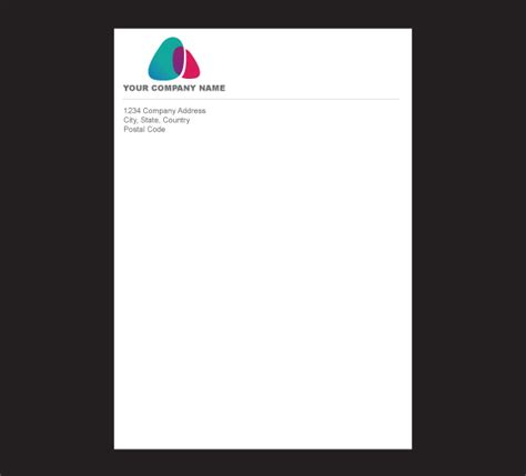 Business Letterhead Stationery Company Letterhead With Logo Www Imgkid The Image Kid Has It