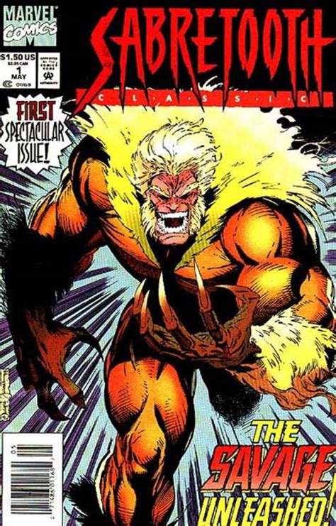 marvel classics comics vol 1 1 marvel database fandom powered by wikia sabretooth classic vol 1 1 marvel database fandom powered by wikia