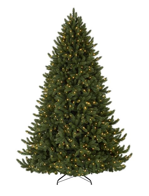Artificial Tree For Home Decor by Vermont White Spruce Led Christmas Trees Balsam Hill