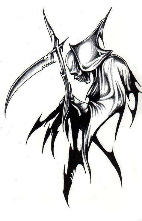 reaper tattoos designs grim reaper images designs