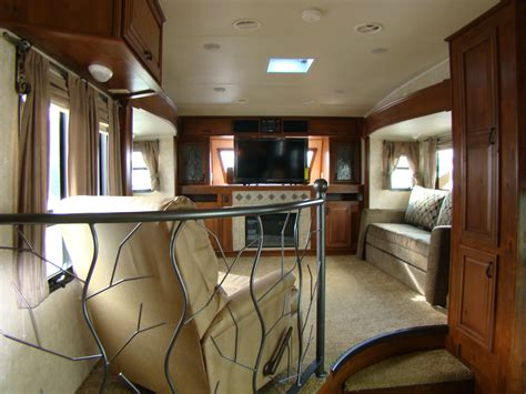 5th wheel with living room in front front living room fifth wheel rving is easy at lerch rv