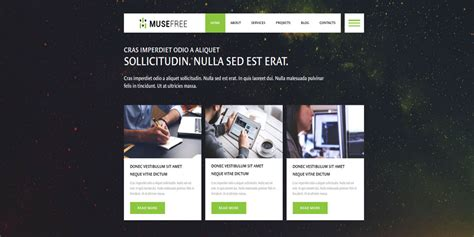 17 Free Muse Themes Templates Free Premium Templates Muse Website Templates
