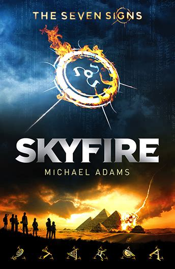the seven book series skyfire the seven signs 1 reading time