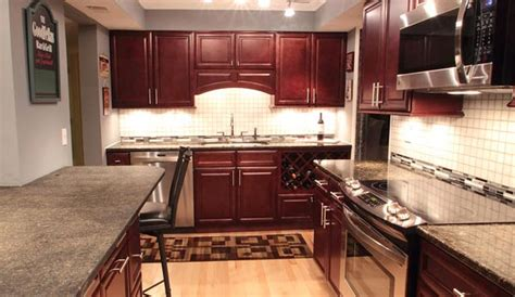 kitchen cabinets assembly required cherry glaze kitchen cabinets