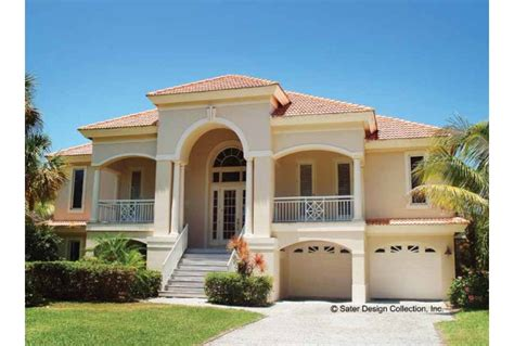 mediteranian house plans eplans mediterranean house plan mediterranean villa 2494 square and 3 bedrooms from