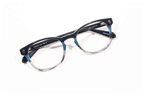 Color Block Glasses taurus blue glasses color block by jonathan cate