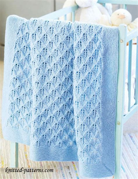 Pattern For Baby Blanket Knitting by Baby Blanket Knitting Patterns Crochet And Knit