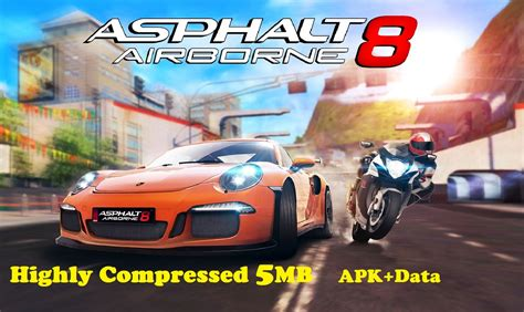 download game mod apk data high compres asphalt 8 airborne apk obb data highly compressed 5 mb