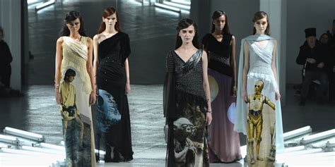 Wars Inspires Fall Fashion by Wars Themed Dresses At Rodarte Are The Best Thing