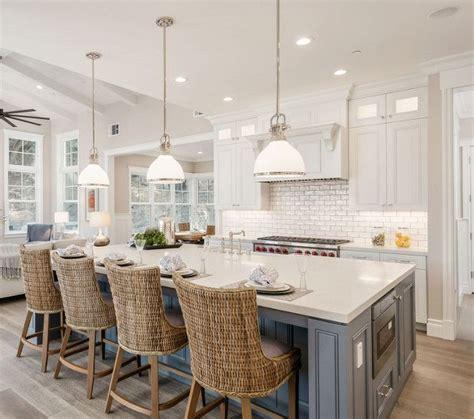 lights for island kitchen best 25 blue kitchen island ideas on