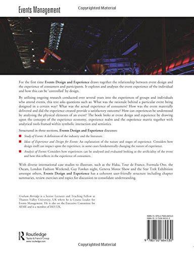 event design routledge events design and experience economia panorama auto