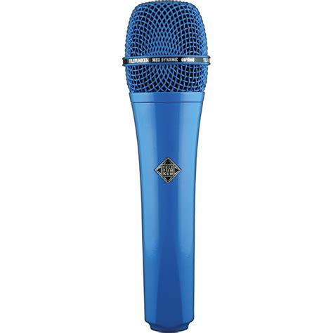 Pro Sound And Lighting Telefunken M80 Custom Dynamic Handheld Microphone Blue M80