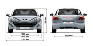 Peugeot Rcz Dimensions Technical Data And Specifications Peugeot Rcz Sports