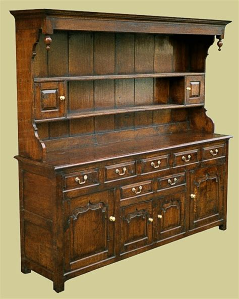 Oak Kitchen Dressers by Large Dresser With 7 Drawers Fabulous Oak Kitchen