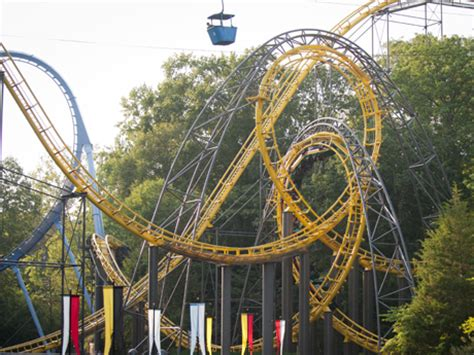 Fast Pass Busch Gardens by Loch Ness Roller Coaster Busch Gardens Williamsburg